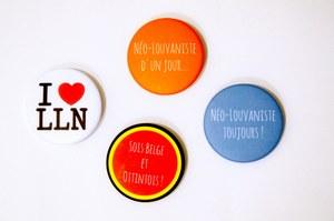 Badges Louvain-la-Neuve