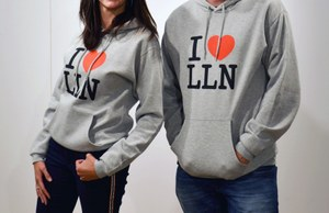 "Sweat-shirt ""I love LLN"""