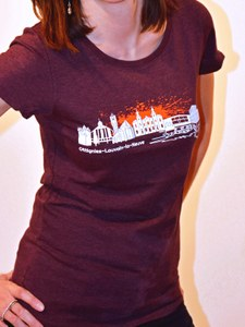 "T-shirt ""Skyline"" for women"